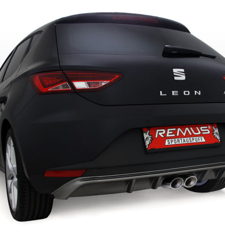 Seat Leon FR Type F5 Stainless Steel Sport Exhaust System  ORZ