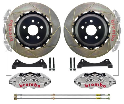 Bmw Z8 Rear: 4 Piston Drilled Monoblock (rear